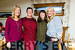 School friends Reunion from England visiting Kay  Donoghue from Castlemaine at Bella Bia on Saturday Andrea Buckley, Dawn Warrillow, Kay Donoghue, Liz Nicoles