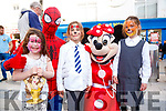 Alanna Hannon, Emilia and Sofia Deregibus, Monavalley, Tralee, with Spiderman and Minnie Mouse enjoying Culture Night in Tralee on Friday night last.