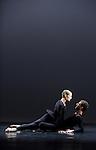 ANTIC MEET....Adaptateur : NEELS Sandra SWINSTON Robert..Choregraphie : CUNNINGHAM Merce..Mise en scene : CUNNINGHAM Merce..Compositeur : CAGE John..Compagnie : Merce Cunningham Dance Company..Decor : RAUSCHENBERG Robert..Lumiere : CHALLENBERG Christine..Costumes : RAUSCHENBERG Robert..Avec :..MADOFF Daniel..WEBER Andrea..Lieu : Theatre de la Ville..Cadre : Festival d Automne 2010..Ville : Paris..Le : 03 11 2010..© Laurent PAILLIER / photosdedanse.com..All Right reserved