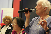 The 2016 Mother&rsquo;s Day Report sponsored by OWL took place Saturday afternoon at the Community Programs Accelerator located at 5225 S. Cottage Grove. The topic for this year&rsquo;s report was &ldquo;Aging in Community&rdquo;.<br /> <br /> 8742 &ndash; Susan Alitto of the Hyde Park Village speaks about the Hyde Park Village.<br /> <br /> Please 'Like' &quot;Spencer Bibbs Photography&quot; on Facebook.<br /> <br /> All rights to this photo are owned by Spencer Bibbs of Spencer Bibbs Photography and may only be used in any way shape or form, whole or in part with written permission by the owner of the photo, Spencer Bibbs.<br /> <br /> For all of your photography needs, please contact Spencer Bibbs at 773-895-4744. I can also be reached in the following ways:<br /> <br /> Website &ndash; www.spbdigitalconcepts.photoshelter.com<br /> <br /> Text - Text &ldquo;Spencer Bibbs&rdquo; to 72727<br /> <br /> Email &ndash; spencerbibbsphotography@yahoo.com