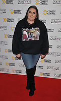 LONDON, ENGLAND - NOVEMBER 28: Clair Norris at the Comedy Central's FriendsFestive exhibition VIP launch, Old Truman Brewery, Hanbury Street on Thursday 28 November 2019 in London, England, UK. <br /> CAP/CAN<br /> ©CAN/Capital Pictures