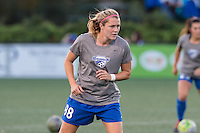 Allston, MA - Saturday Sept. 24, 2016: Kathryn Schoepfer prior to a regular season National Women's Soccer League (NWSL) match between the Boston Breakers and the Western New York Flash at Jordan Field.
