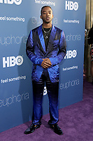 "LOS ANGELES _ JUN 4:  Algee Smith at the LA Premiere Of HBO's ""Euphoria"" at the Cinerama Dome on June 4, 2019 in Los Angeles, CA"