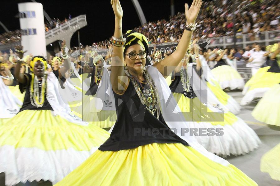 SÃO PAULO,SP,19.01.2019 - CARNAVAL-SP - Ensaio Técnico Geral da escola de samba Vai Vai, no sambódromo do Anhembi localizado na zona norte de São Paulo na noite desta sexta-feira, 19. (Foto:Nelson Gariba/Brazil Photo Press)