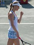 Mona Barthel (GER)  defeats Sloane Stephens (USA) 6-3, 7-6