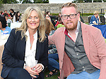 Alan Clarke and Rosemary Burnell pictured at Much Ado About Nothing by the Chapterhouse Theatre Company at Oldbridge House. Photo:Colin Bell/pressphotos.ie