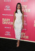 """LOS ANGELES, CA June 14  Eiza Gonzalez, At Premiere Of Sony Pictures' """"Baby Driver"""" at The Ace Hotel, California on June 143, 2017. Credit: Faye Sadou/MediaPunch"""