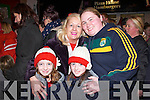 Excited to see Santa turning on Abbeyfeale's Christmas Lights on Friday night were Back Row L-R Anna Mann and Mary O'Brien. Front Row L-R Maria Mann and Annette Man. All of Abbeyfeale