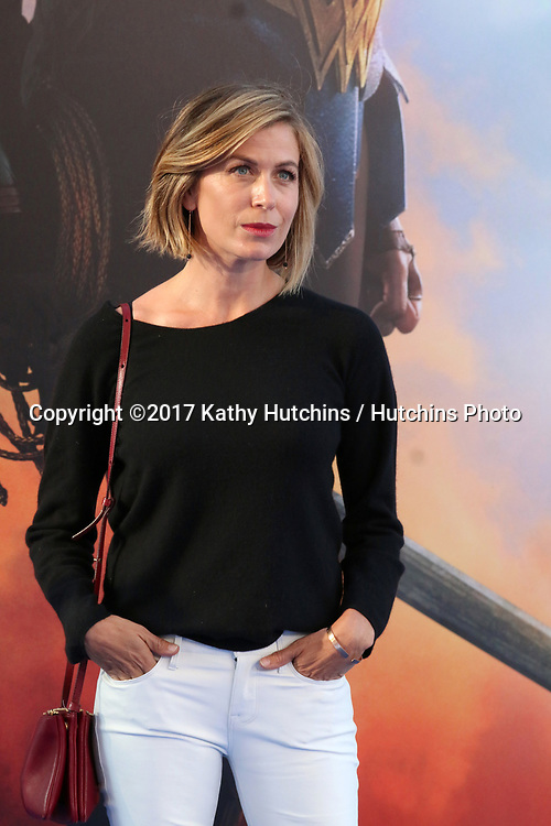 "LOS ANGELES - MAY 25:  Sonya Walger at the ""Wonder Woman"" Los Angeles Premiere at the Pantages Theater on May 25, 2017 in Los Angeles, CA"