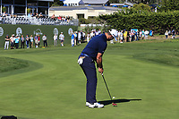 Jon Rahm (ESP) putts on the 17th green at Pebble Beach course during Friday's Round 2 of the 2018 AT&amp;T Pebble Beach Pro-Am, held over 3 courses Pebble Beach, Spyglass Hill and Monterey, California, USA. 9th February 2018.<br /> Picture: Eoin Clarke | Golffile<br /> <br /> <br /> All photos usage must carry mandatory copyright credit (&copy; Golffile | Eoin Clarke)