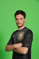 Hugo Lloris  .29/5/2012 .Calcio Foto Ufficiali Francia Euro2012.Foto Insidefoto / Anthony Bibard / FEP/ Panoramic ITALY ONLY