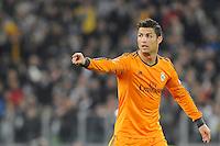 Cristiano Ronaldo Real Madrid   Torino 05/11/2013  Juventus Stadium UEFA Champions League 2013/2014  Football Calcio Juventus - Real Madrid  Foto Giorgio Perottino / Insidefoto