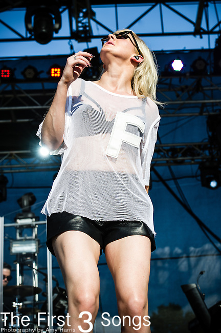 Ellie Goulding performs during Day 1 of the 2013 Firefly Music Festival in Dover, Delaware.
