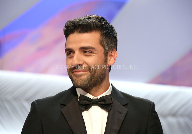 WWW.ACEPIXS.COM....US Sales Only....May 26 2013, Cannes....Oscar Isaac at the closing ceremony during the Cannes Film Festival onMay 262013 in France....By Line: Famous/ACE Pictures......ACE Pictures, Inc...tel: 646 769 0430..Email: info@acepixs.com..www.acepixs.com