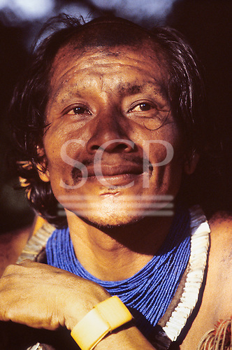 Xingu, Brazil. Bep Djaui, an elder from the Xicrin Kayapo village of Catete.