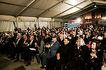 Meeting politique du Courant du Futur et commémoration publique au mémorial de Rafic Hariri place des Martyrs à Beyrouth, le 13 février 2011 - Political meeting of the Movement of the Future and public commemoration at the Rafik Hariri memorial on Martyrs Square in Beirut, february 13 2011