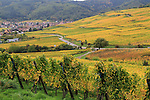 Autumn vinyards surrounding Turckheim, Alsace, France .  John offers private photo tours in Denver, Boulder and throughout Colorado, USA.  Year-round. .  John offers private photo tours in Denver, Boulder and throughout Colorado. Year-round.