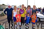 Enjoying the Cahersiveen Regatta on Sunday last were front l-r; Shane Goggin, Jack O'Sullivan Michael Scanlon, back l-r; Tim O'Sullivan, Mary O'Sullivan, David Cronin, Evelyn Goggin & Liz Scanlon.