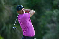 Brooks Koepka (USA) watches his tee shot on 2 during round 4 of The Players Championship, TPC Sawgrass, at Ponte Vedra, Florida, USA. 5/13/2018.<br /> Picture: Golffile | Ken Murray<br /> <br /> <br /> All photo usage must carry mandatory copyright credit (&copy; Golffile | Ken Murray)