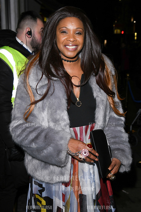 Sandi Bogle arriving for James Ingham's Jog on to Cancer 2018 at Cafe de Paris, London, UK. <br /> 04 April  2018<br /> Picture: Steve Vas/Featureflash/SilverHub 0208 004 5359 sales@silverhubmedia.com