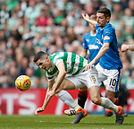 29.04.18 Celtic v Rangers: Tom Rogic and Graham Dorrans
