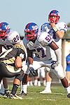 Palos Verdes, CA 09/24/10 - Joshua Williams (Serra #57)  in action during the Serra-Peninsula varsity football game at Peninsula High School.