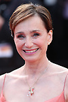 Cannes Film Festival 2017 - Day 7.  Red Carpet for the Anniversary of the  the 70th edition of the 'Festival International du Film de Cannes' on 23/05/2017 in Cannes, France. The film festival runs from 17 to 28 May. Pictured : Kristin Scott Thomas