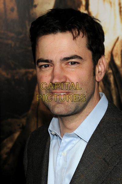 """RON LIVINGSTON.HBO's """"The Pacific"""" Mini-Series Premiere held at Grauman's Chinese Theatre, Hollywood, California, USA..February 24th, 2010.headshot portrait black blue stubble facial hair .CAP/ADM/BP.©Byron Purvis/AdMedia/Capital Pictures."""