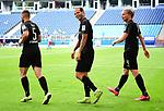 1:5 Tor, Jubel v.l. Marlon Frey, Torschuetze Dennis Diekmeier, Jesper Verlaat (Sandhausen)<br />Hamburg, 28.06.2020, Fussball 2. Bundesliga, Hamburger SV - SV Sandhausen<br />Foto: VWitters/Witters/Pool//via nordphoto<br /> DFL REGULATIONS PROHIBIT ANY USE OF PHOTOGRAPHS AS IMAGE SEQUENCES AND OR QUASI VIDEO<br />EDITORIAL USE ONLY<br />NATIONAL AND INTERNATIONAL NEWS AGENCIES OUT