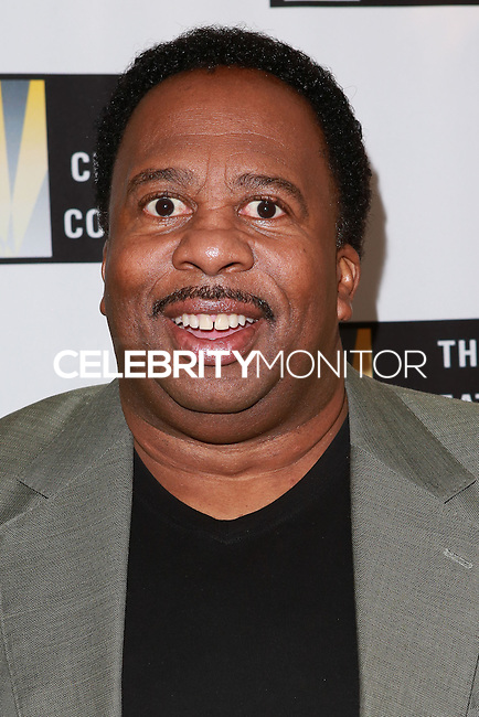 LOS ANGELES, CA, USA - OCTOBER 21: Leslie David Baker arrives at The Creative Coalition's 'Art of Discovery' Los Angeles Launch Party held at the Home of Lawrence Bender on October 21, 2014 in Los Angeles, California, United States. (Photo by David Acosta/Celebrity Monitor)