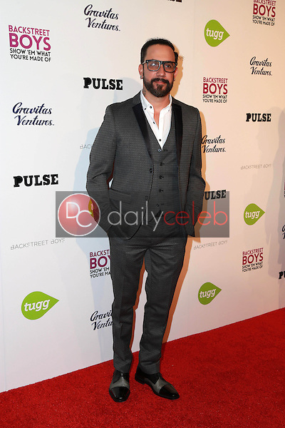 A.J. McLean<br />