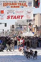 2009 Iditarod Ceremonial Start in Anchorage Alaska March 7 2009