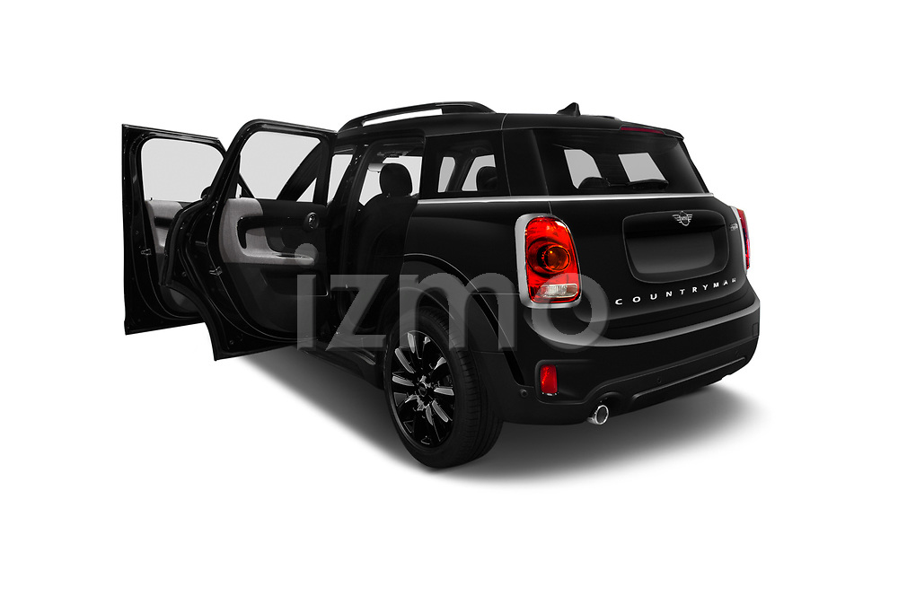 Car images close up view of a 2018 Mini Countryman Oakwood 5 Door Hatchback doors
