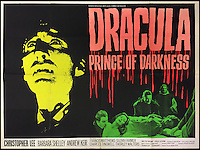 BNPS.co.uk (01202 558833)<br /> Pic: Cottees/BNPS<br /> <br /> Dracula Prince of Darkness 1966 Hammer Horror film poster, starring Christopher Lee.<br /> <br /> A horror fan has sold his chilling collection of cult movie posters - for a shocking &pound;25,000.<br /> <br /> The unnamed film buff collected over 100 posters that advertised scary movies like Dracula, Frankenstein, The Wicker Man and the Hammer Horror franchise.<br /> <br /> He has now sold them at Cottees Auctions of Wareham, Dorset, with one rare Dracula poster fetching over &pound;5,000 alone.