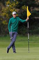 Tiernan McLarnon (Massereene) on the 2nd green during Round 3 of the Lytham Trophy, held at Royal Lytham & St. Anne's, Lytham, Lancashire, England. 05/05/19<br /> <br /> Picture: Thos Caffrey / Golffile<br /> <br /> All photos usage must carry mandatory copyright credit (© Golffile | Thos Caffrey)
