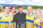 Louise O'Sullivan, Aine O'Shea, Mickey Murphy (Cox), Sinead Sheehan and Sinead O'Sullivan Sive RC who won the u21 ladies final at the Callinafercy Regatta on Sunday   Copyright Kerry's Eye 2008