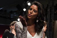 S&Atilde;O PAULO-SP-03.03.2015 - INVERNO 2015/MEGA FASHION WEEK -Yanna Lavigne/<br /> O Shopping Mega Polo Moda inicia a 18&deg; edi&ccedil;&atilde;o do Mega Fashion Week, (02,03 e 04 de Mar&ccedil;o) com as principais tend&ecirc;ncias do outono/inverno 2015.Com 1400 looks das 300 marcas presentes no shopping de atacado.Br&aacute;z-Regi&atilde;o central da cidade de S&atilde;o Paulo na manh&atilde; dessa segunda-feira,02.(Foto:Kevin David/Brazil Photo Press)