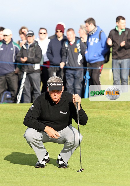 Darren Clarke (NIR) on the 11th on Day 2 of the 2012 Irish Open at Royal Portrush Golf Club, Portrush, Co.Antrim, 29/6/12...(Photo Jenny Matthews/www.golffile.ie)