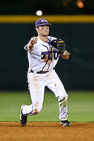 Taylor Featherston (12) April 27th, 2010; NCAA Baseball action, Baylor University Bears vs TCU Horned Frogs at Lupton Stadium in Fort Worth, Tx;  TCU won 5-4 in extra innings.