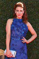 LOS ANGELES - APR 30:  Courtney Hope at the 44th Daytime Emmy Awards - Arrivals at the Pasadena Civic Auditorium on April 30, 2017 in Pasadena, CA