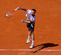 Robin Soderling (SWE) (5) against Tomas Berdych (CZE) in the semi-finals for the men's singles. Robin Soderling beat Tomas Berdych 6-3 3-6 5-7 6-3 6-3...Tennis - French Open - Day 13 - Fri 04 Jun 2010 - Roland Garros - Paris - France..© FREY - AMN Images, 1st Floor, Barry House, 20-22 Worple Road, London. SW19 4DH - Tel: +44 (0) 208 947 0117 - contact@advantagemedianet.com - www.photoshelter.com/c/amnimages