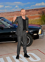 "LOS ANGELES, USA. October 08, 2019: Aaron Paul at the premiere of ""El Camino: A Breaking Bad Movie"" at the Regency Village Theatre.<br /> Picture: Paul Smith/Featureflash"