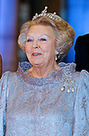 """QUEEN BEATRIX.attends the gala farewell dinner given in her honour at the Rijksmuseum in Amsterdam, The Netherlands_April 29, 2013..Crown Prince Willem-Alexander and Crown Princess Maxima will be proclaimed King and Queen  of The Netherlands on the abdication of Queen Beatrix on 30th April 2013..Mandatory Credit Photos: ©NEWSPIX INTERNATIONAL..**ALL FEES PAYABLE TO: """"NEWSPIX INTERNATIONAL""""**..PHOTO CREDIT MANDATORY!!: NEWSPIX INTERNATIONAL(Failure to credit will incur a surcharge of 100% of reproduction fees)..IMMEDIATE CONFIRMATION OF USAGE REQUIRED:.Newspix International, 31 Chinnery Hill, Bishop's Stortford, ENGLAND CM23 3PS.Tel:+441279 324672  ; Fax: +441279656877.Mobile:  0777568 1153.e-mail: info@newspixinternational.co.uk"""
