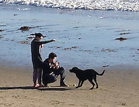 Katy Perry and John Mayer celebrate Christmas Eve together on the beach - California - Exclusive