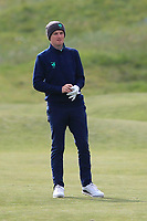 Ronan Mullarney (Galway) on the 4th during Round 3 of the Lytham Trophy, held at Royal Lytham & St. Anne's, Lytham, Lancashire, England. 05/05/19<br /> <br /> Picture: Thos Caffrey / Golffile<br /> <br /> All photos usage must carry mandatory copyright credit (© Golffile | Thos Caffrey)