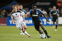 SANTA CLARA, CA--San Jose Earthquakes tie the Philadelphia Union 0-0 in regular season play at Buck Shaw Stadium in Santa Clara, CA.
