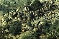 Typical Mafa village located near Ziver mountain