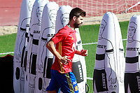 Spain's Gerard Pique during training session. October 3,2017.(ALTERPHOTOS/Acero)<br /> <br /> Foto Alterphotos / Insidefoto <br /> ITALY ONLY