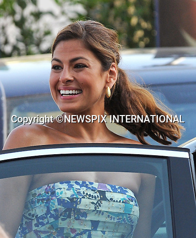 """EVA MENDES.at the  Giffoni Film Festival , Giffoni, Salerno, Italy.The Giffoni International Film Festival is the largest children's film festival in Europe. Over 1000 children attend the festival from 30 countries around the world. During the festival, the children and teenagers watch the films, learn about the filmmaking process, and are called to judge them and award the best ones with prizes..Mandatory Credit Photo: ©NEWSPIX INTERNATIONAL..**ALL FEES PAYABLE TO: """"NEWSPIX INTERNATIONAL""""**..IMMEDIATE CONFIRMATION OF USAGE REQUIRED:.Newspix International, 31 Chinnery Hill, Bishop's Stortford, ENGLAND CM23 3PS.Tel:+441279 324672  ; Fax: +441279656877.Mobile:  07775681153.e-mail: info@newspixinternational.co.uk"""