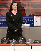Linda Lundrigan (NU - Associate Head Coach) - The Northeastern University Huskies defeated the visiting Providence College Friars 8-7 on Sunday, January 20, 2013, at Matthews Arena in Boston, Massachusetts.